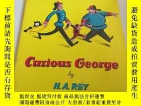 二手書博民逛書店curious罕見George by H.A.REY(英文)Y2