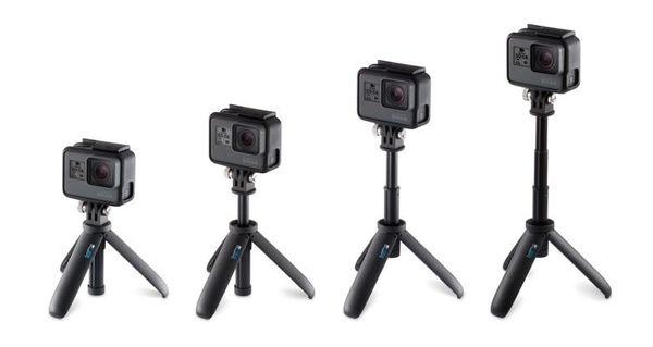 ◎相機專家◎ 全館免運 GoPro HERO7 迷你延長桿+腳架 自拍桿 自拍棒 AFTTM-001 HERO 公司貨