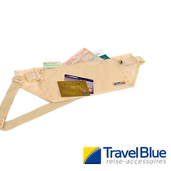 英國Travel Blue藍旅 MoneyBeltDL內藏腰包 卡其色 TB111B 戶外|休閒|旅遊|露營|登山|出國