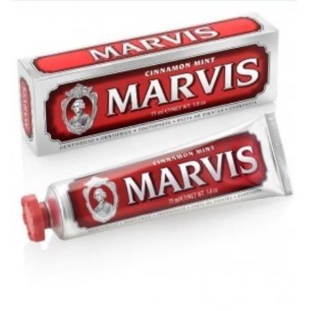 義大利Marvis紅色肉桂薄荷牙膏75ml(單支)