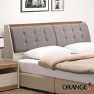 【采桔家居】拿索 現代5尺亞麻布雙人床頭箱(不含床底+不含床墊)