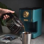 咖啡機 Toffy復古美式咖啡機家用型電動滴漏式咖啡壺煮咖啡泡咖啡 墨綠色 220v mks小宅女