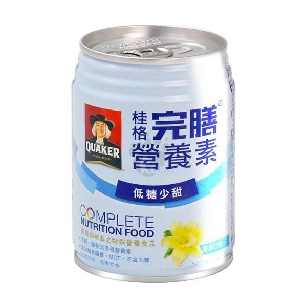【南紡購物中心】桂格完膳營養素 香草口味 250ml*24入/箱 (2箱)