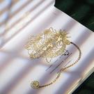 創意精美書簽金屬黃銅復古風縷空高端禮盒小禮 極簡雜貨