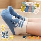 5雙裝 兒童襪子秋冬純棉嬰兒可愛男童寶寶卡通中筒襪【淘嘟嘟】