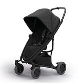 Quinny ZAPP X FLEX PLUS 嬰兒四輪手推車-旗艦版(黑篷黑布)贈提籃+雨罩[衛立兒生活館]