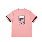 FILA 女款 東京應援紀念系列 短袖 圓領T恤 粉桃色 1TEV-5450-PC 【KAORACER】
