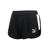 PUMA 女流行系列T7短褲(歐規 三分褲 慢跑 路跑 圈毛 針織 真理褲≡體院≡ 53023701