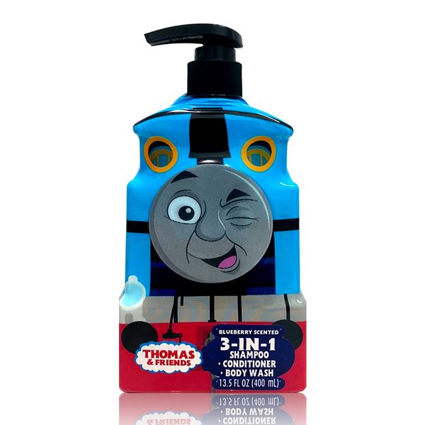 美國熱銷卡通Thomas & Friends 3合1洗髮沐浴乳-13.5oz