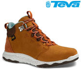 TEVA 《女款》頂級全皮超輕量科技大底中筒防水健走登山鞋ARROWOOD LUX MID WP - 棕