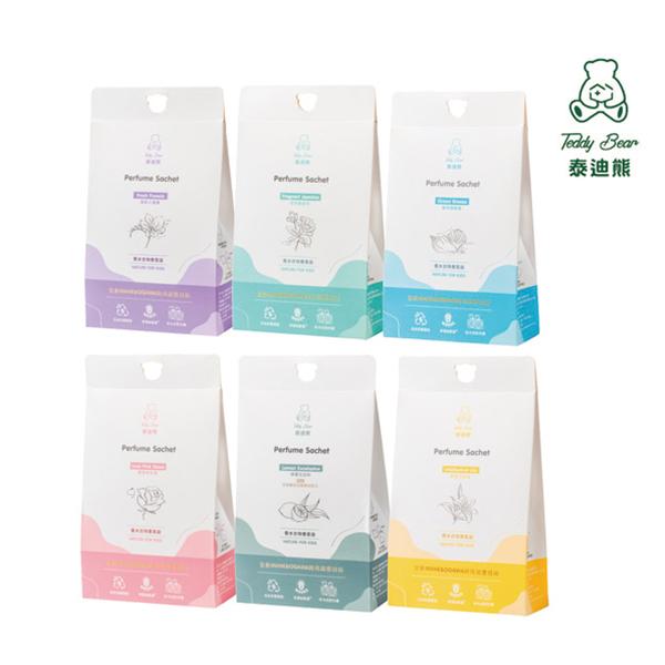 Teddy Bear 泰迪熊 香水衣物香氛袋 7gx3包入 香味可選 衣物香氛 居家香氛【PQ 美妝】