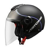 【東門城】ASTONE CJ500 - LL10 彩繪(平光黑/藍) 3/4半罩式安全帽