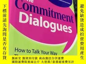 二手書博民逛書店Ten罕見Commitment Dialogues (精裝)Y5834 Matthew Mckay McGra