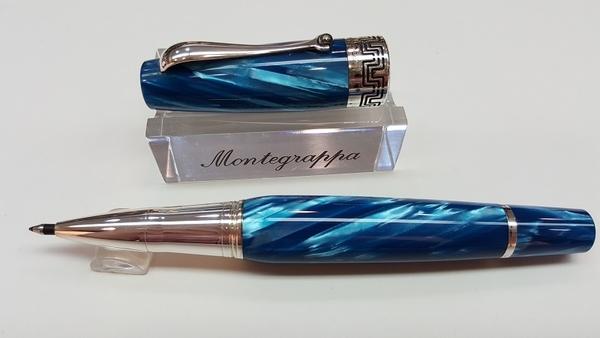 萬特佳Montegrappa-義大利書寫精品第一品牌-鋼珠筆-MIYA(藍)
