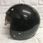 【東門城】ZEUS ZS388A  素色 珍珠黑 復古帽