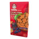 脆妮妮 nutrinini 藍莓甜菜幼兒餅乾110g/盒