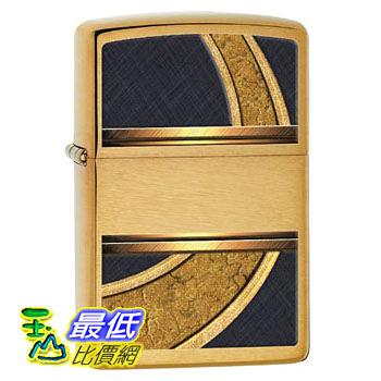[104 美國直購] Zippo Design Lighter, Brushed Brass 打火機