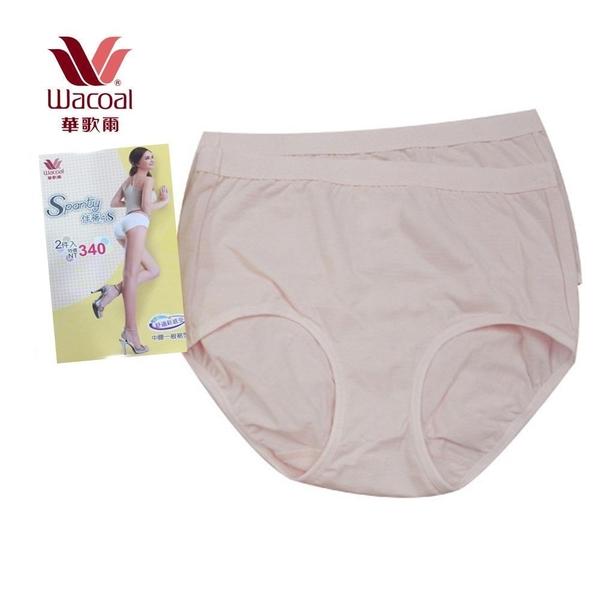 【南紡購物中心】【華歌爾】新伴蒂-S型 中腰M-LL機能內褲兩件組