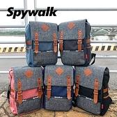 SPYWALK 繽紛防水拉鍊後背包 NO:S5321