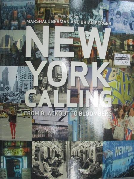 【書寶二手書T7/原文小說_HKE】New York Calling: From Blackout to Bloombe