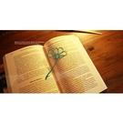 【收藏天地】創意小物*鋁合金質感書籤-大波斯菊系列 (4色) / 藏書夾 生活文具 禮品 文青