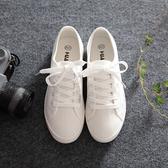 帆布鞋 小白鞋百搭秋款女鞋學生帆布鞋女韓版2020秋季新款平底布鞋 小天後