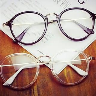 款韓版文藝風男士眼鏡框復古全框可愛眼鏡架學生可配近視潮眼鏡
