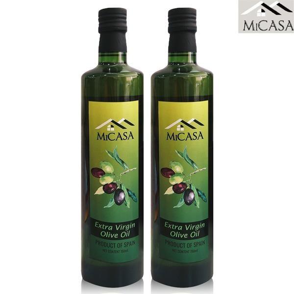 【南紡購物中心】【米卡薩】特級冷壓初榨橄欖油x4罐(750ml/罐)