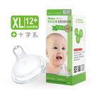 Simba小獅王辛巴 - 母乳記憶超柔防脹氣奶嘴 - 寬口十字麥粉 (XL) -4入