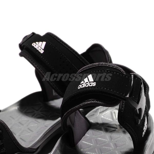 【六折特賣】adidas 拖鞋 Cyprex Ultra Sandal II 黑 灰 涼拖鞋 涼鞋 舒適好穿 男鞋【PUMP306】 B44191