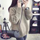(全館一件免運費)DE SHOP~(HL-807)半高領針織毛衣