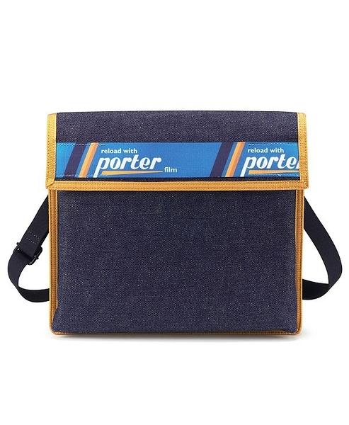 PORTER - LOAD 扁包 - 藍