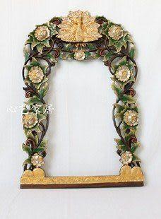 東南亞風情 鏡框