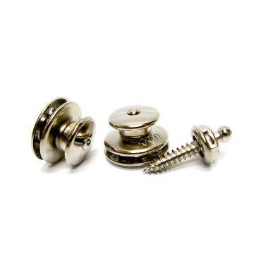 【金聲樂器】Loxx 德製安全肩帶釦-吉他/貝斯-輕鬆銀 (鍍鎳) LOXX-E-Nickel