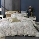 鴻宇 雙人特大床包薄被套組 天絲300織 悠舒拉 台灣製 T20108