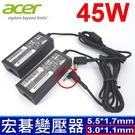 宏碁 Acer 45W 原廠規格 變壓器 Swift sf314-52-59ZD SF315 SW5-171 SW5-017 SW5-171-325N SW5-171-34ZR SW5-171-39LB