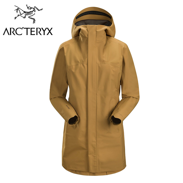 Arc'teryx 始祖鳥 CODETTA  GTX長版休閒外套 女款 薑根褐 #17196