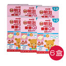 金選明治樂樂Q貝 成長方塊奶粉(1-3歲) 【6盒購】