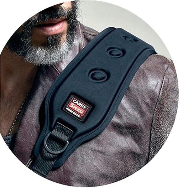 又敗家@美國CARRYSPEED肩墊(新款寬版)PRO MK III單眼單反相機背帶肩墊減壓肩墊FS-PRO SLIM XTREME