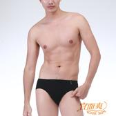 【宜而爽】時尚吸濕排汗速乾型男三角褲 黑3件組