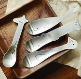 ♚MY COLOR♚ ZAKKA笑臉不鏽鋼動物勺 廚房 用餐 餐桌 湯匙 餐具 可愛 萌系 鯨魚 鴨 長頸鹿【Q73】