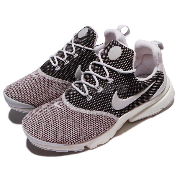 【六折特賣】Nike 休閒慢跑鞋 Wmns Presto Fly SE 灰 黑 魚骨鞋 襪套式 運動鞋 女鞋【PUMP306】910570-005