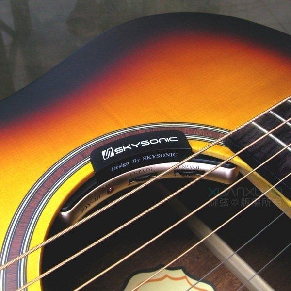 ☆唐尼樂器︵☆免運費 SkySonic JOY3 三系統 下弦枕收音/麥克風/打板貼片 低雜訊 可免挖洞 專業琴