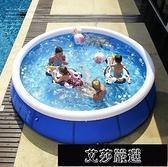 充氣游泳池 加厚兒童游泳池家用成人超大號室內嬰兒寶寶戶外大型加厚充氣水池