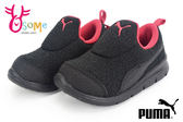 PUMA運動鞋 小童休閒鞋 Bao 3 Warm lnf 直接套輕便鞋J9503#黑◆OSOME奧森童鞋/小朋友