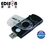 【樂悠悠生活館】EDISON愛迪生 USB3.0 27合1讀卡機 兩色 (EDS-USB06)