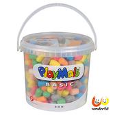 【德國 Playmais】玩玉米創意黏土隨身桶(500顆裝) BCPL0018