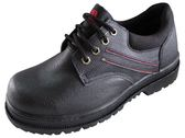 『雙惠鞋櫃』◆Soletec ◆ 綁帶款 皮革安全鞋/工作鞋 ◆台灣製造◆ (E98051) 黑