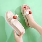 涼拖鞋女2021夏季新款韓版柔軟耐磨厚底舒適防滑時尚外穿一字拖鞋 蘿莉新品