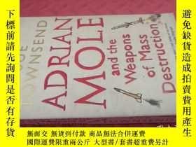 二手書博民逛書店【英文原版】Adrian罕見Mole and Weapons of Mass Destruction( 如圖)